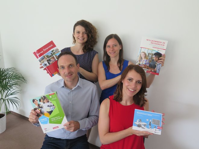 Team Spracherwerb: Responsables des contenus d'apprentissage